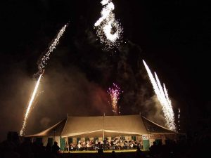 pa hire for St peters firework display